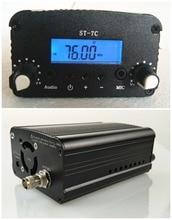 1 W/7 W 12 V 3A ST-7C 76-108 MHZ stéréo station de radio de diffusion émetteur FM PLL