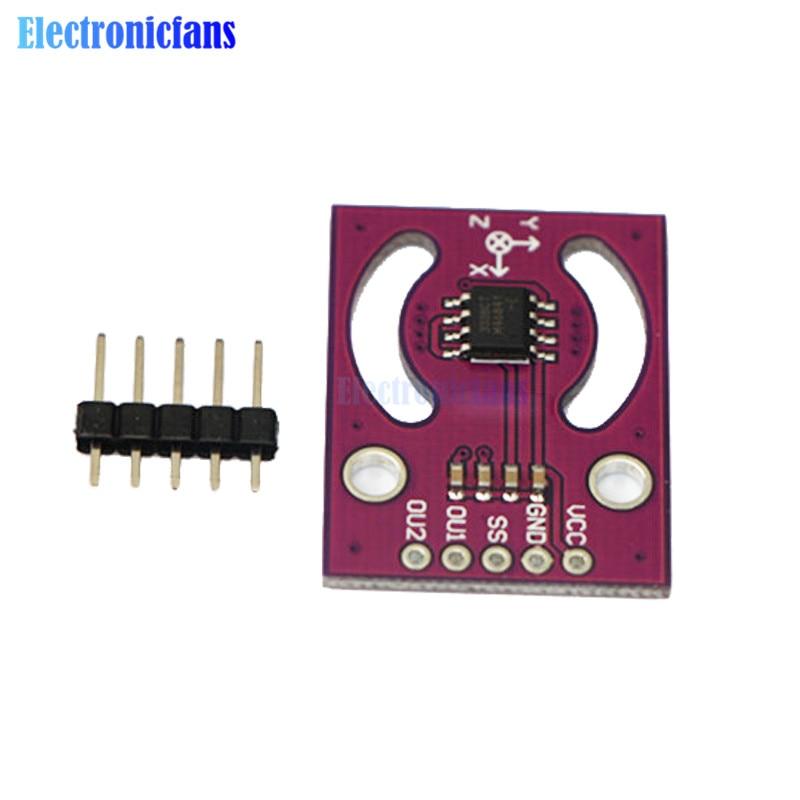 MLX90333 Module poignée Joystick capteur Position absolue numérique Angle en trois dimensions