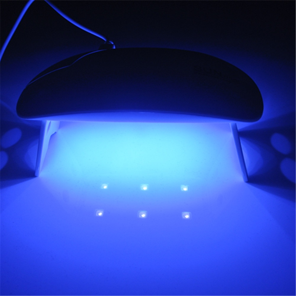 Tipart 6w UV LED Lamp  45/60S Nail Dryer Portable USB Cable For Prime Gift Home Use Gel Nail Polish