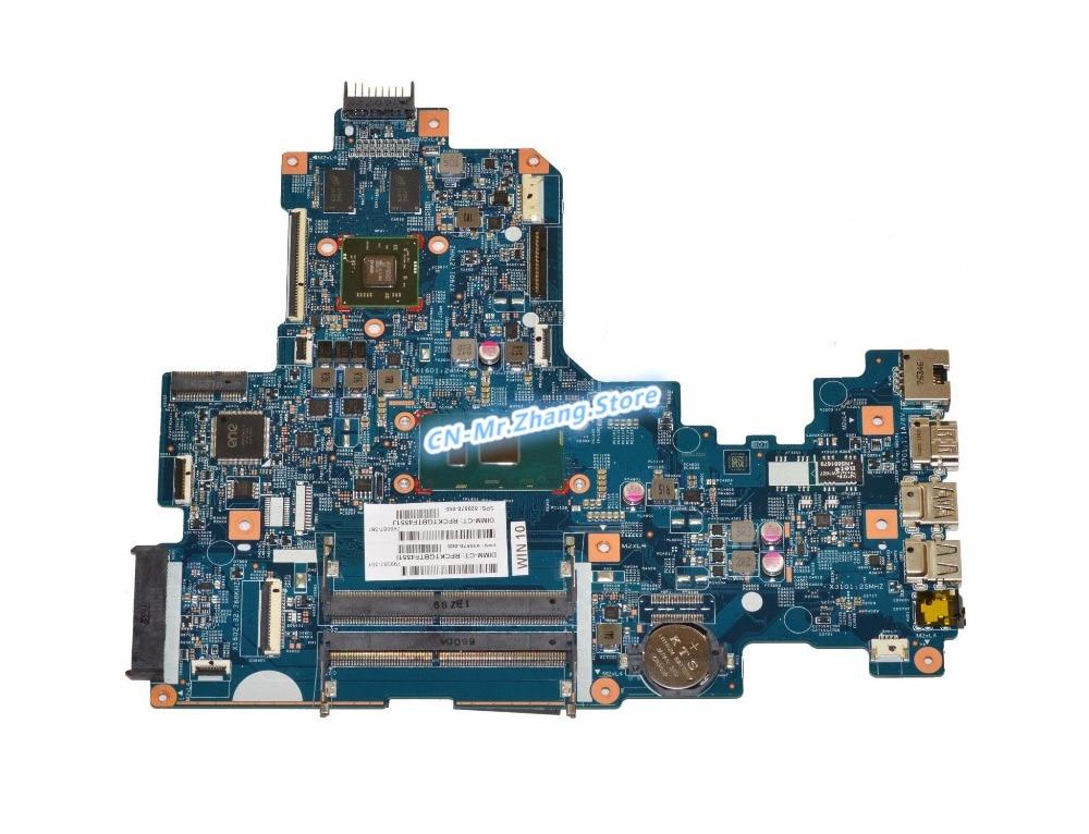 SHELI FOR HP 17-X Laptop Motherboard W/ I7-7500U CPU 859032-601 448.08E01.0021 DDR4