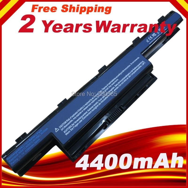 Nueva batería del ordenador portátil para Acer Aspire E1 V3 V3-471 V3-471G V3-551 V3-551G V3-571 V3-571G V3-771