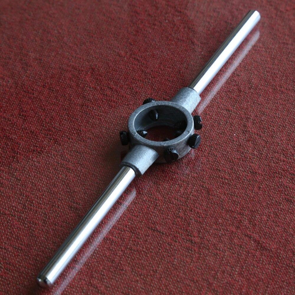 Envío gratis de 1 unidad 65mm (M27-M36) mano redondo llave bisagra morir herramientas de roscado de torno modelo ingeniero hilo fabricante