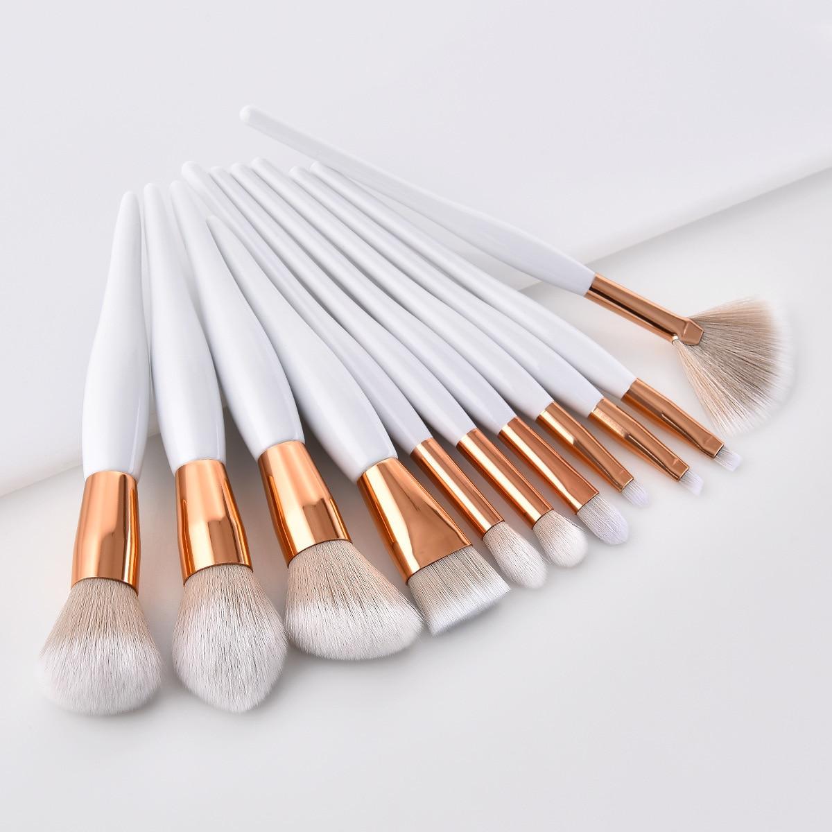 Профессиональные отдельные Кисточки для макияжа, высокое качество, тени для век, бровей, губ, пудра, основа, Кисть для макияжа, косметический карандаш, кисть