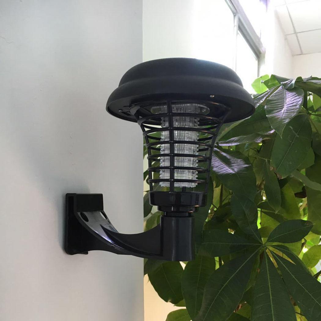 Repelente de mosquitos para aire libre lámpara de jardín a prueba de humedad, impermeable. Lámpara de tierra 10000h 2V insecticida