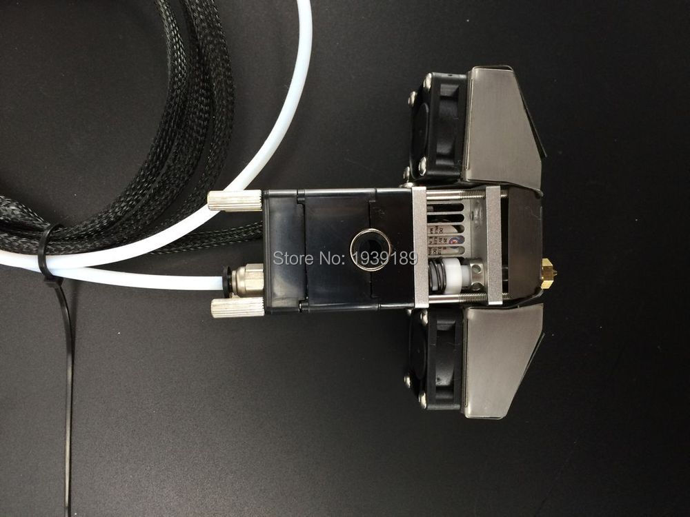 شحن مجاني! ثلاثية الأبعاد جزء الطابعة أولسون كتلة فوهة كاملة Hotend رأس رئيس ل UM2 + تمديد 1.75 مللي متر خيوط