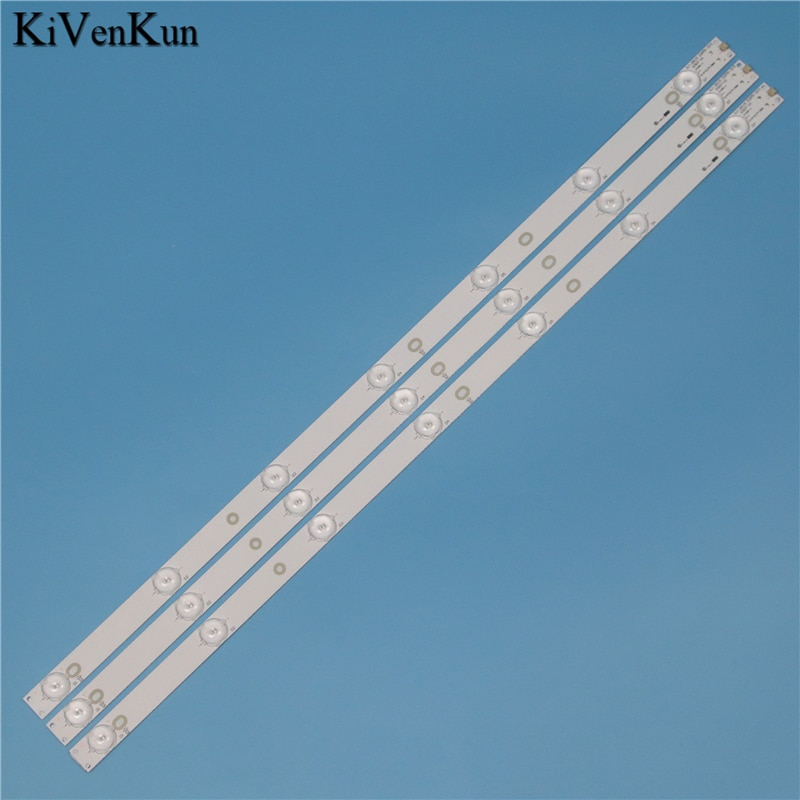 Neue 7 Lampe 614 mm Led-hintergrundbeleuchtung Streifen Für Philips 32PHH4309/60 32PFT4309/60 32PFT5300/60 32 zoll Bar Kit TV LED Linie Band HD Objektiv