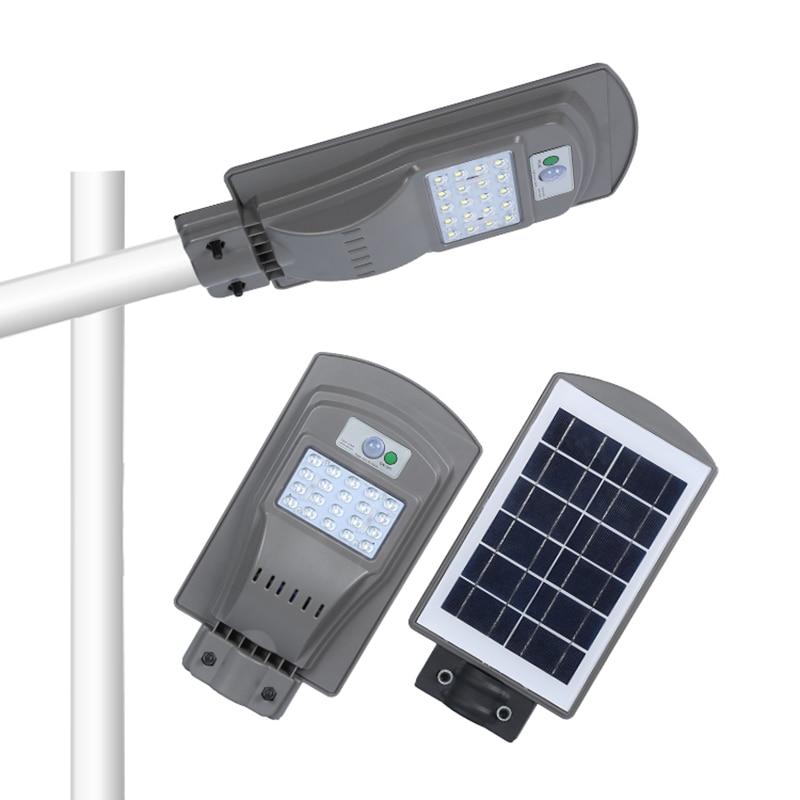 Solar Powered Lamp Outdoor Solar Led Street Light Lampara Solar Outdoor Led Sun Powered Garden Gate Luces Solares Para Exterior