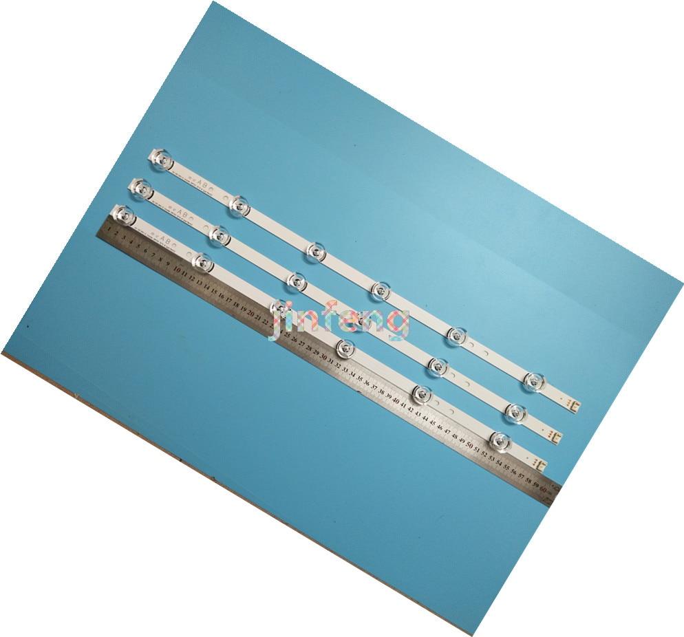 5 комплектов = 15 шт. светодиодный подсвечник для LG 32LB 32LB5700 32LF562V UOT A B 6916L-2223A 2224A WOOREE LGIT A B 6916L-1974A 1975A 1703A