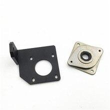 Creality CR-10/CR-10S imprimante 3D en aluminium Y pas à pas moteur de renfort plaque de montage et amortisseur