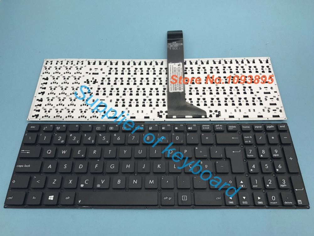 Novo teclado português para asus f550lb f550lc f552 f552cl f552ea f552ep k550c k550 k550ca k550cc portátil teclado português