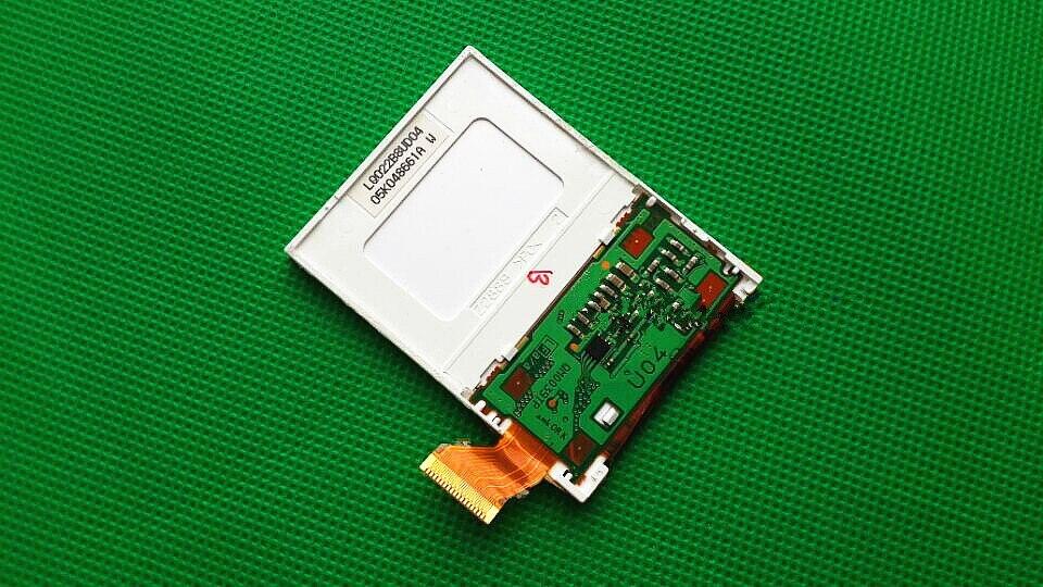 "Original 2,2 ""pulgadas LQ022B8UD04 pantalla LCD para Garmin edge 605 GPS bicicleta ordenador LCD pantalla panel reparación reemplazo"