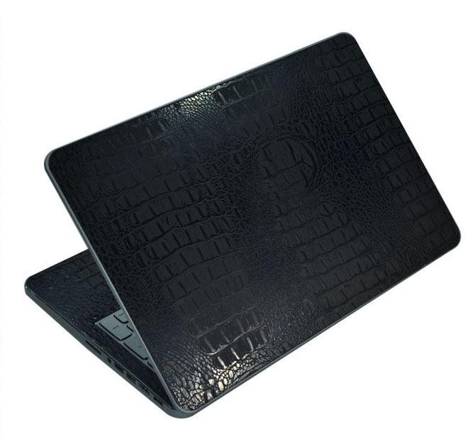 "KH Laptop Carbon fiber Crocodile Snake Leather Sticker Skin Cover Guard Protector for Acer Aspire V Nitro VN7-592 15"""