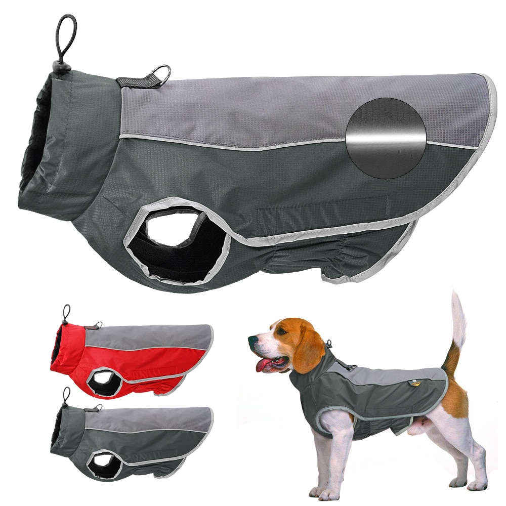 Winter Dog Pet Clothes Waterproof Dog Jacket Coat Big Dogs Pets Clothing Costume For Medium Large Dogs Bulldog Ropa Perro M-3XL