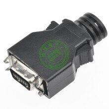 Соединитель кабеля MDR, штекер, 14-контактный разъем SCSI CN