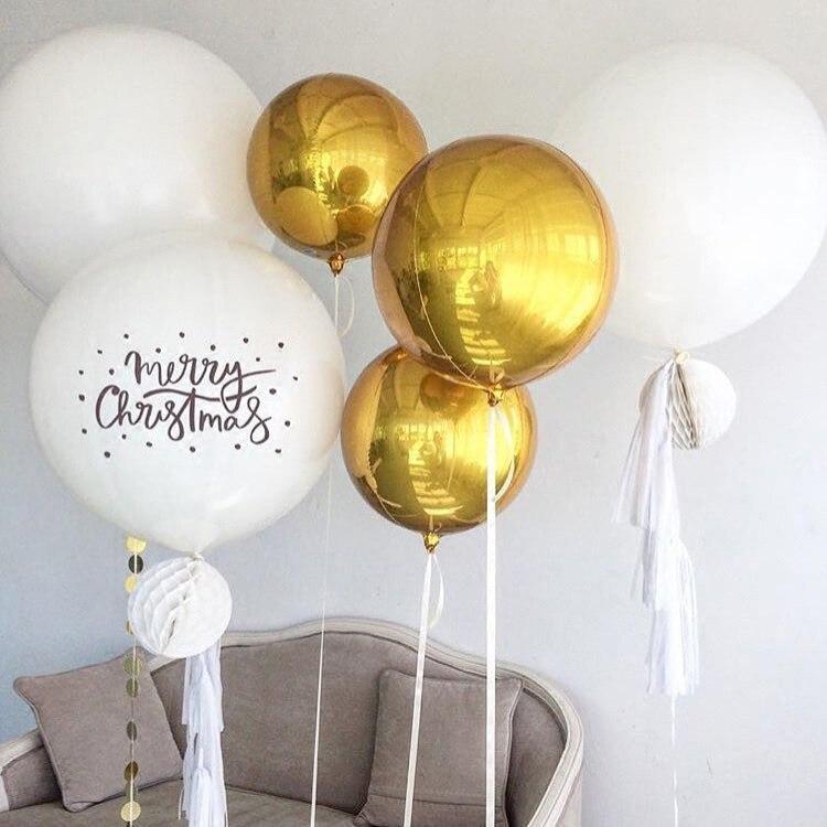 Ynaayu 1 pcs 4D Balões Grande 22 Polegada Foil Balões Balão de Aniversário de Casamento Para Fonte Do Partido