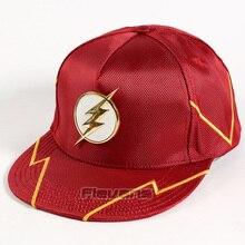 DC Super Hero The Flash Adjustable Baseball Snapback Cap Fashion Hip Hop Hat for Men Women