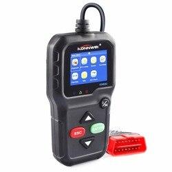 Профессиональный ODB2 сканер кодов KW680 Поддержка нескольких языков OBD2 автомобильный Сканнер автоматический диагностический инструмент для ...