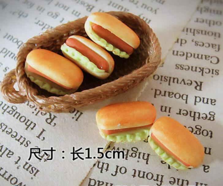 112, casa de muñecas bonita, accesorios para Comida en miniatura, casa de muñecas, cocina, comida hotdog