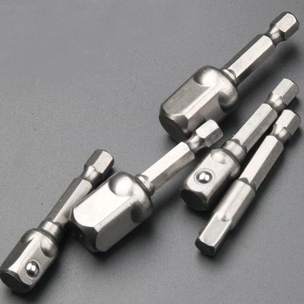 Extensión de brocas para taladro, adaptador de zócalo de acero de vanadio...