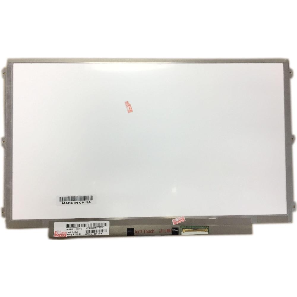 LALAWIN LP125WH2 SLT1 fit LP125WH2 SLB3 SLB1 SLT2 40 PINOS IPS LCD Laptop Screen Display LED Esquerda + Direita 3 orifícios dos parafusos No-Touch