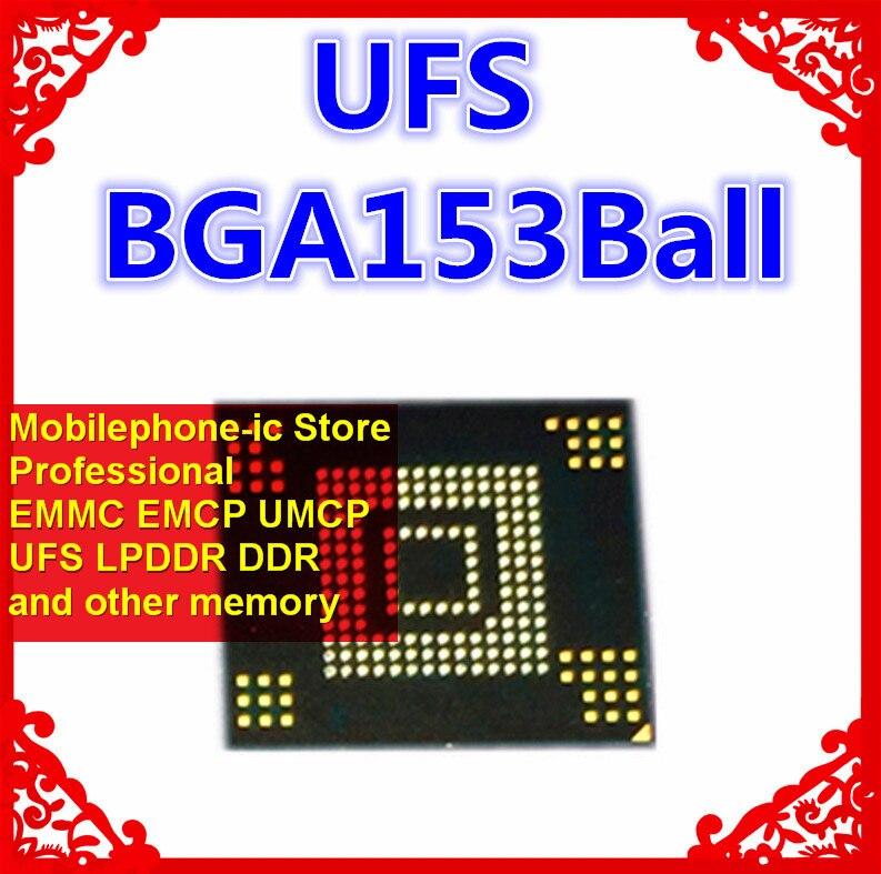KLUCG2K1EM-B0C1 BGA153Ball UFS2.1 2,1 64 Гб Память мобильного телефона новые оригинальные и б/у спаянные Мячи протестированы ОК