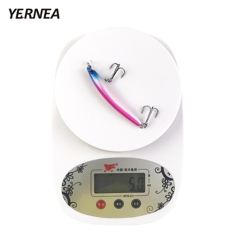 Yernea 5pcs/Lot 5 Colors Small Floating Minnow Fishing Lure Wobblers Crankbait Artificial Bait 3D Eyes Fishing Lures Accessories enlarge