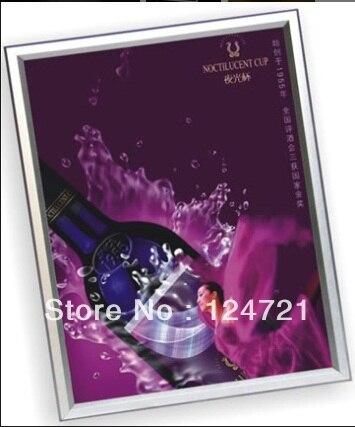 Custom Led Iluminado Signo Caja, Menú Lightbox Signage Tamaño de 400mm x 600mm Envío Gratis