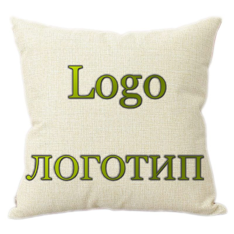 10 pces logotipo oem carro travesseiro design do cliente capa de almofada publicidade promocional presente empresa presente aniversário presente travesseiro