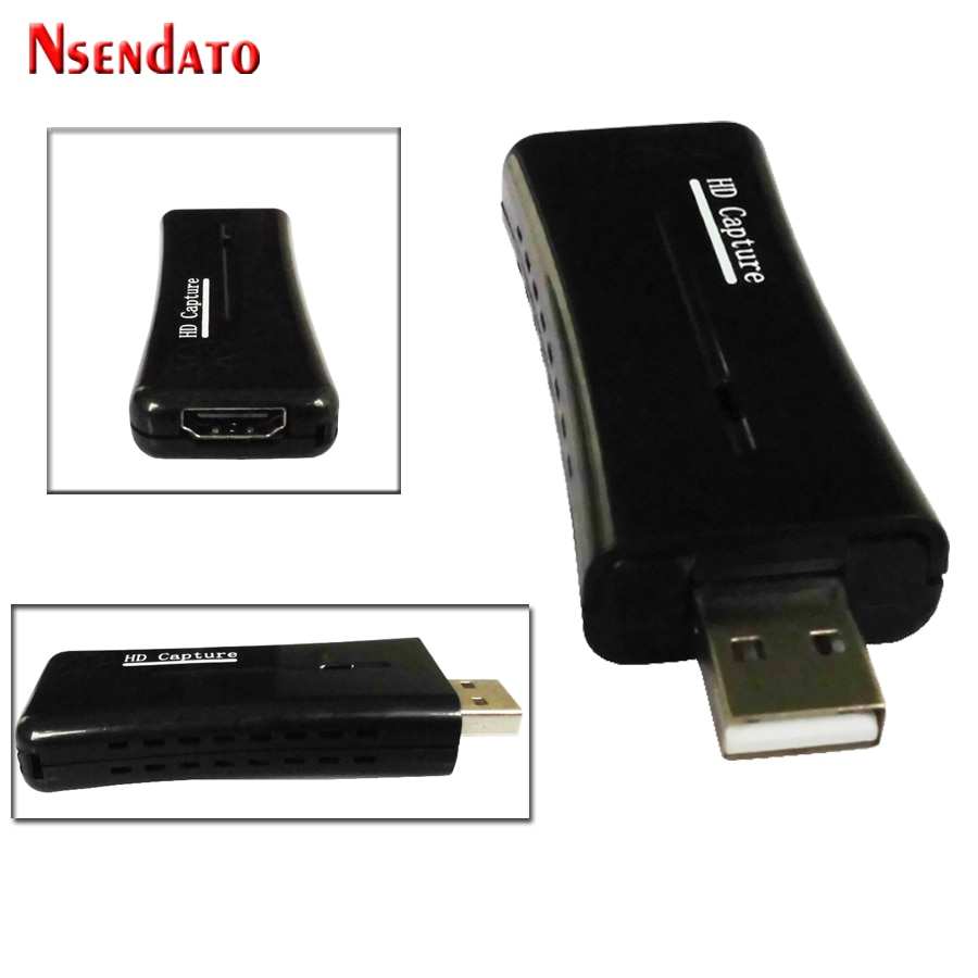Nsendato UTVF007 USB2.0 к HDMI видео Catpure карта USB2.0 HD 1 способ видео карта конвертер адаптер для Windows XP/Vista/7/8/10