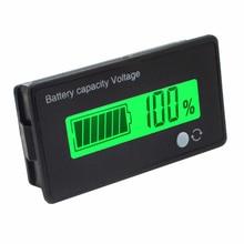 12V/24V/36V/48V 8-70V LCD acide plomb Lithium indicateur de capacité voltmètre tension batterie testeurs outils nouveau