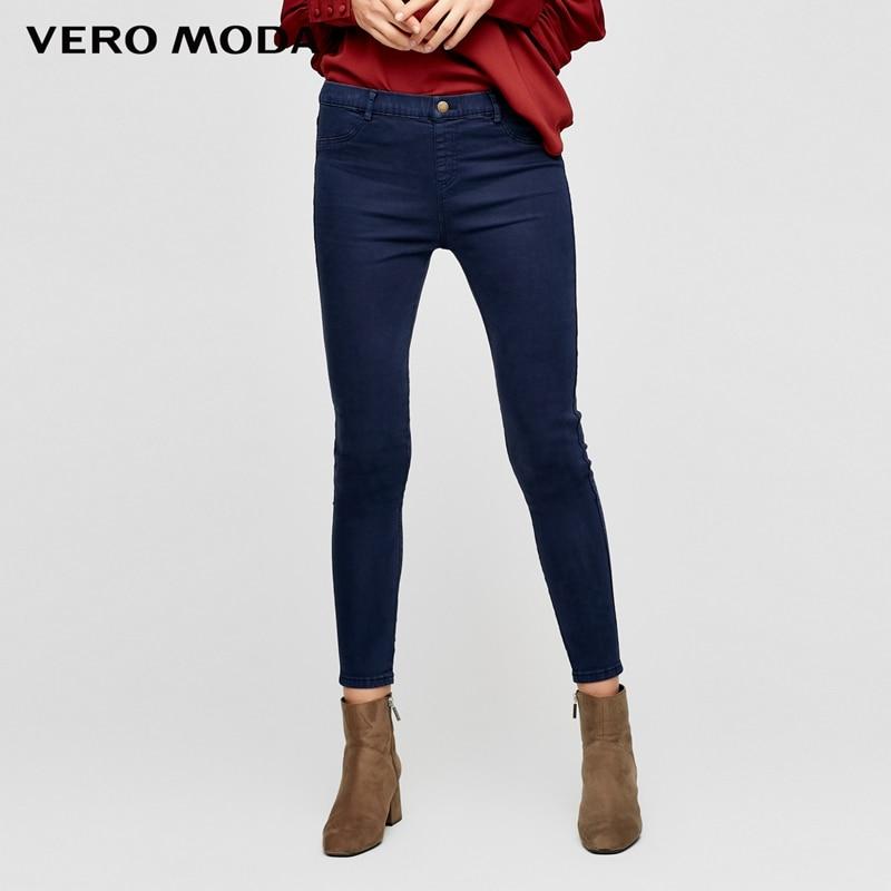 Vero Moda Dünne wrap stretch denim hosen Jeans Frau   316449501