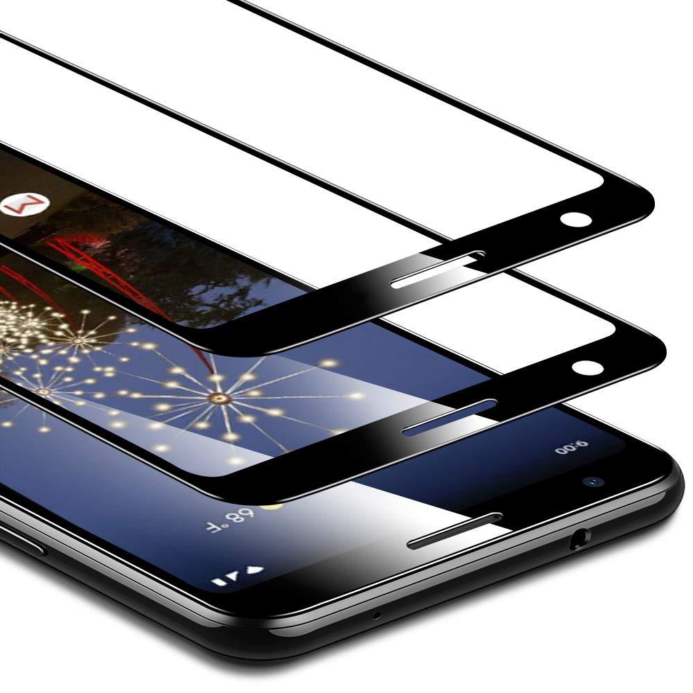 2 paquetes para Google Pixel 3a XL vidrio templado 9H película protectora de pantalla a prueba de explosiones para gafas Google Pixel 3a