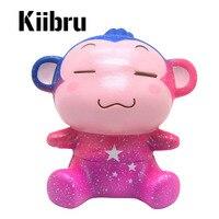 Kiibru Милая Галактическая обезьянка мягкая супер медленно восстанавливающая форму животная обезьянка кукла Ароматизированная оригинальная...