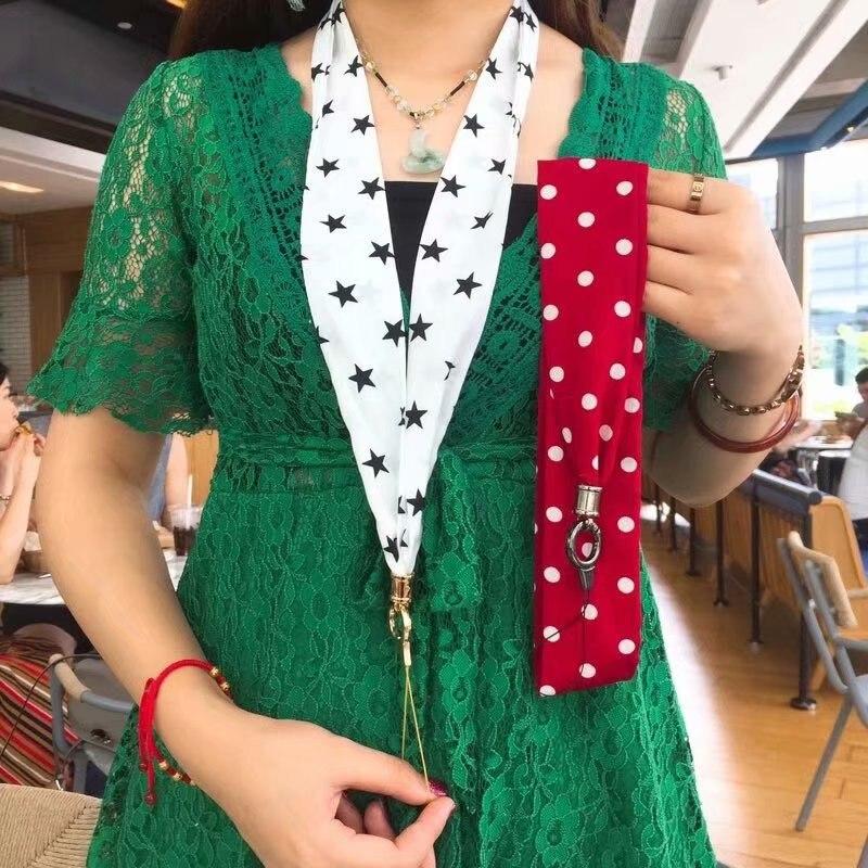 Ремешок на шею и шарф для телефона ремешок ключей сотового подвесная цепочка