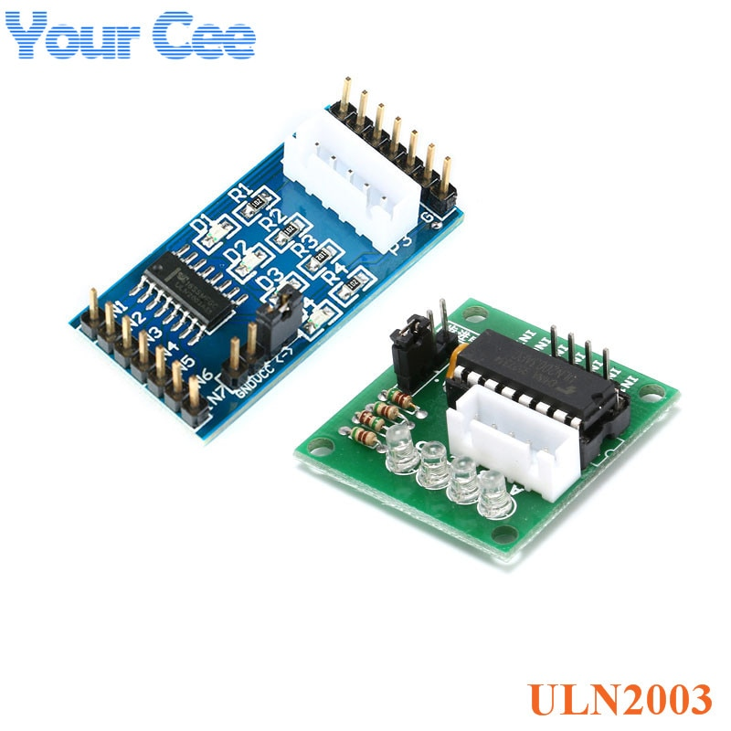 ULN2003 paso a paso tarjeta de control para motor módulo Arduino AVR SMD azul verde Junta