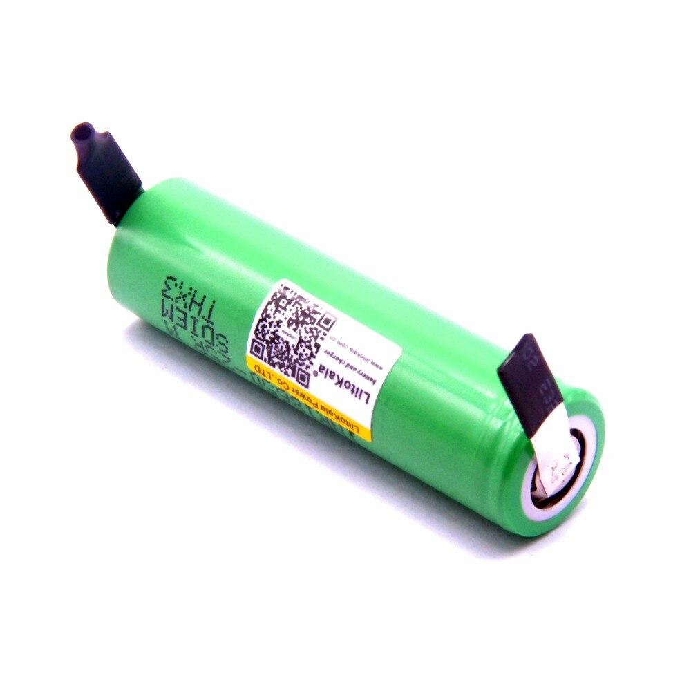 100 PCS Liitokala Neue Original 18650 2500 mAh batterie INR1865025R 3,6 V entladung 20A gewidmet Power batterie + DIY Nickel blatt