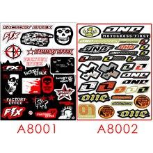Fasp Mode Fiets Motorfiets Auto Sticker Graffiti Snowboard Bagage Tas Laptop Helm Skateboard Gitaar Vinyl Decal 2 Pcs
