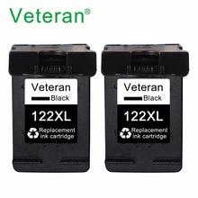 Vétéran Cartouche Dencre Rechargée 122XL 122 XL pour hp Deskjet 1000 1050 1510 2000 2050 2540 3000 3050 1050A 2050A 3050A imprimante