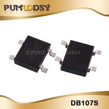 20 pces db107s sop4 db107 smd novo e original ic