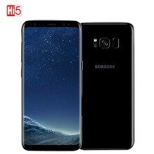 "Unlocked Originele Samsung Galaxy S8 Plus SM-G955U 4GB RAM 64GB ROM Octa Core 6.2 ""display Android Vingerafdruk smartphone"