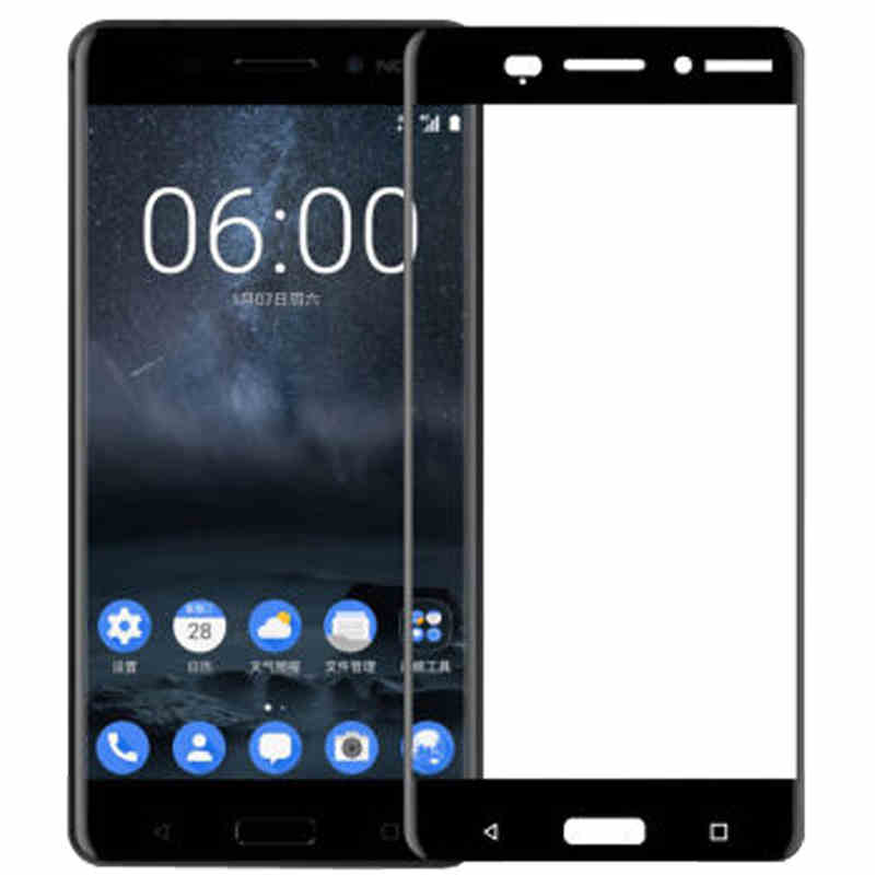For Nokia 6 Tempered Glass 3D Original 9H Full Cover Explosion-proof Screen Protector Film For Nokia