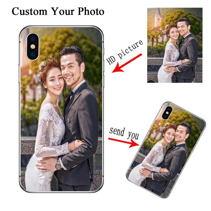 Personalizada funda para Samsung Galaxy A10 A20 A30 A40 A50 A60 A70 A90 Nota 10 M20 M30 A7 2018 S10 más S9 S8 S7 cubierta foto personalizada