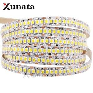 DC12V LED Strip 5050 5054 2835 240LEDs/m High Bright Flexible LED Rope Ribbon Tape Light Lamp Warm White / Cold White 5m