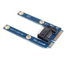 SP Mini PCI-E mSATA SSD à plat SATA 7pin disque dur adaptateur dextension PCBA