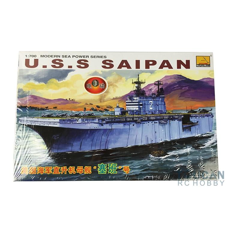 Hobby Boss 80802 1/700 Electric Attack Ship Model USS Saipan Aircraft
