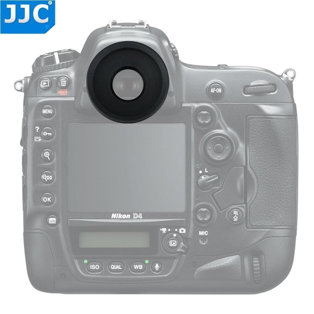 JJC Camera Eyepiece Viewfinder Eyecup For Nikon D850 D5 D500 D810A D810 Df D4S D800E D4 D800 D2 D3 Replaces Nikon DK-19 Eyeshade