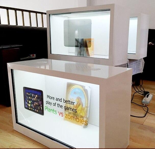 كشك إعلانات رقمي تفاعلي بشاشة LCD تعمل باللمس مع كمبيوتر مدمج لمركز التسوق