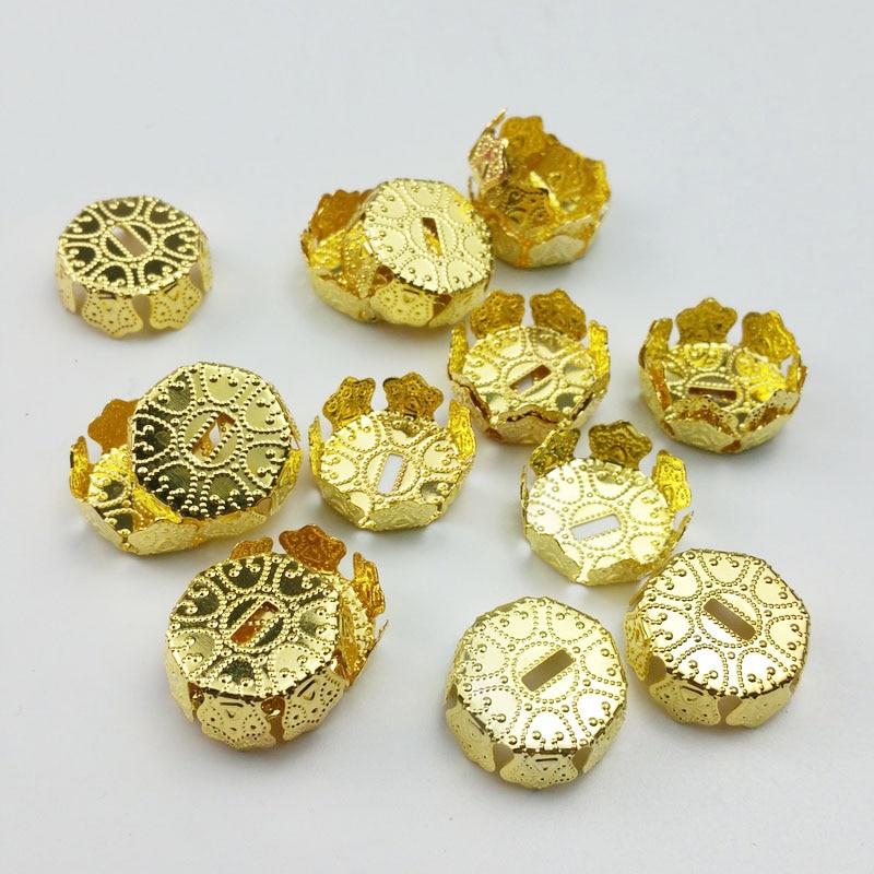 20-шт-лот-20-мм-Золотая-железная-крышка-ювелирные-аксессуары-для