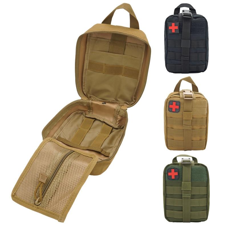 Tactical Medical First Aid Kit Bag Utility Survival Emt Bag Pouch Molle Medical EMT Emergency Military Hunting Package