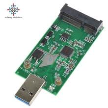 USB 3.0 à Mini PCIE mSATA SSD externe mSATA à USB 3.0 adaptateur de convertisseur SSD